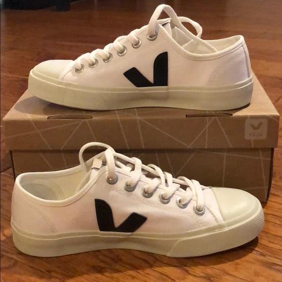 Veja Shoes   Veja Wata Canvas Sneakers